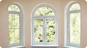 нестандартные пластиковые окна производство