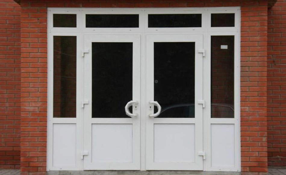пластиковые двери пвх установка