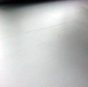 как удалить царапину на пластиковом подоконнике